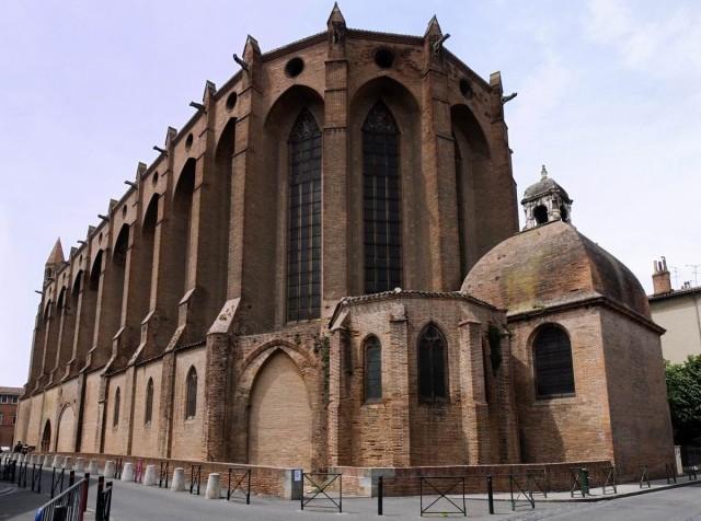 церковь монастыря якобинцев