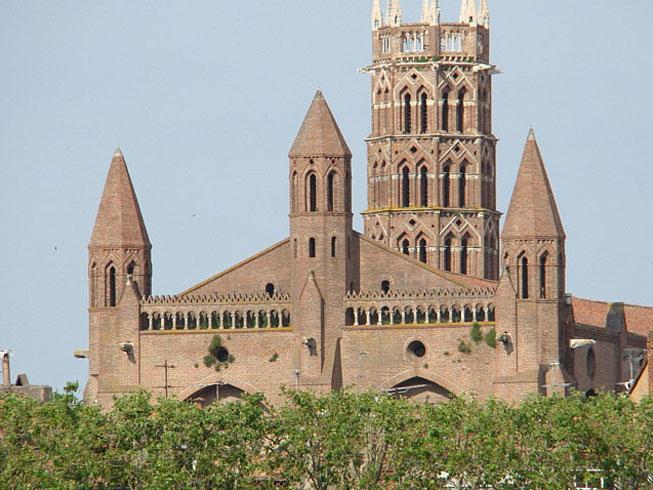 Монастырь доминиканцев в Тулузе